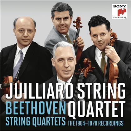 Juilliard String Quartet & Ludwig van Beethoven (1770-1827) - Beethoven Quartets 1964-1970 (9 CDs)
