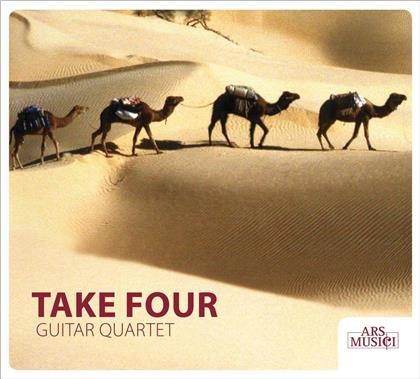 Take Four Guitar Quartet, Alexander Tcherepnin (1899 - 1977), Johann Sebastian Bach (1685-1750), Henry Purcell (1659-1695), Benjamin Britten (1913-1976), … - Guitar Quartets