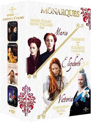 Monarques - Marie Stuart - Reine d'Écosse / Elizabeth / Elizabeth - L'âge d'or / Confident Royal (4 DVD)