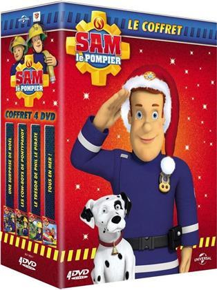 Sam le Pompier - Une surprise de Noêl / Les Cow-boys de Pontypandy / Le trésor de Phil e Pirate / Tous en mer (4 DVDs)
