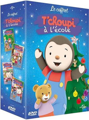 T'choupi à l'école - Le safari en forêt / C'est la rentrée ! / Le petit chouchou / Les petits héros (4 DVDs)