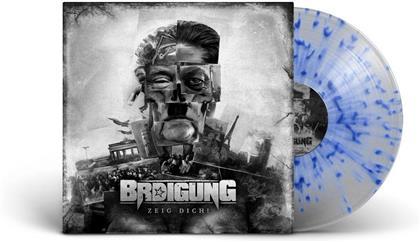 Brdigung - Zeig Dich! (Gatefold, Clear/Blue Splatter Vinyl, LP)