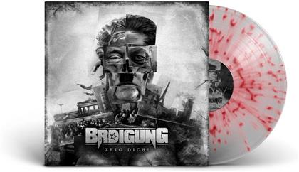 Brdigung - Zeig Dich! (Gatefold, Clear/Red Splatter Vinyl, LP)