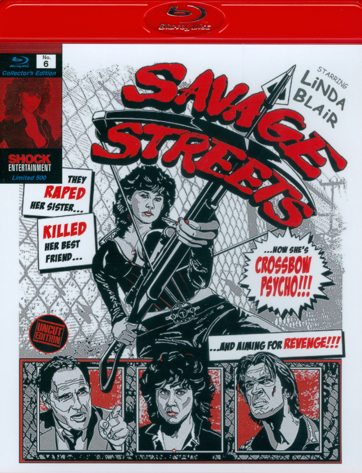 Savage Streets (1984) (Collector's Edition, Limited Edition, Remastered)