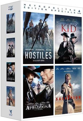 Hostiles / The Kid / Appaloosa / The Salvation (4 DVD)