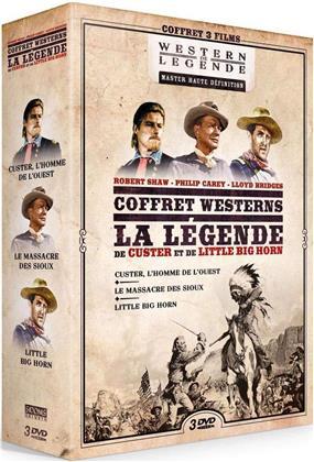 Coffret Westerns - La Légende de Custer et de Little Big Horn - Custer, l'homme de l'ouest / Le massacre des Sioux / Little Big Horn (3 DVDs)