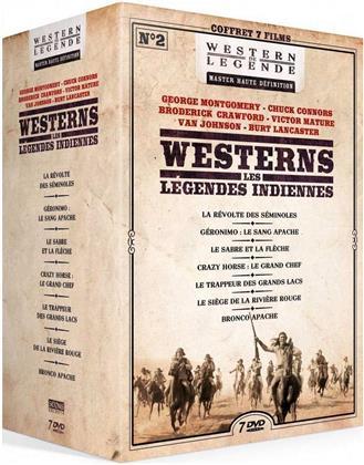 Westerns - Les Légendes Indiennes (Western de Légende, 7 DVDs)