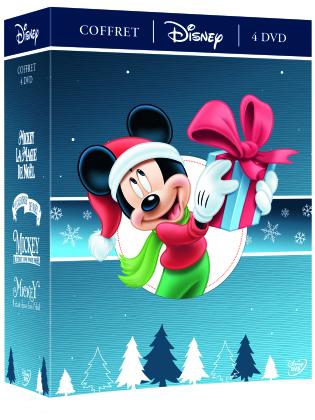 Coffret Disney Noël - Mickey et la magie de Noël / Le calendrier de Noël / Il était une fois Noël / Il était deux fois Noël (4 DVDs)