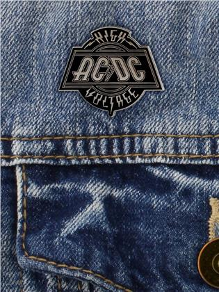 AC/DC High Voltage Enamel Pin Badge