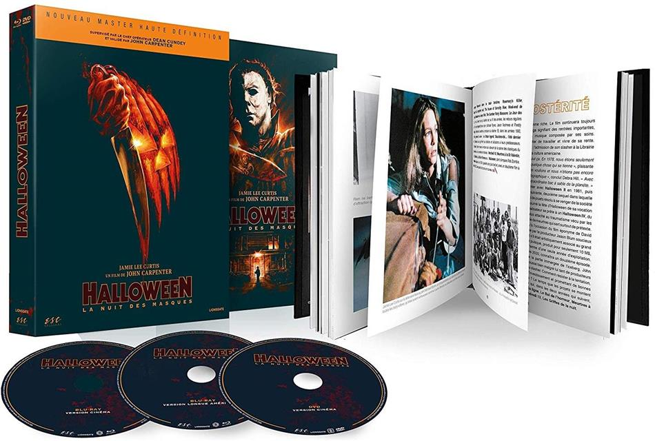 Halloween - La nuit des masques (1978) (Limited Edition, Mediabook, Blu-ray + DVD)