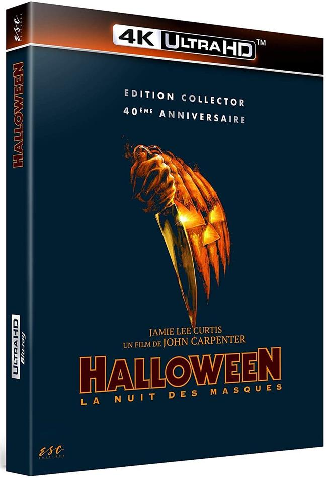 Halloween - La nuit des masques (1978) ( Collection tus les parfums du monde, Collector's Edition, 4K Ultra HD + Blu-ray)