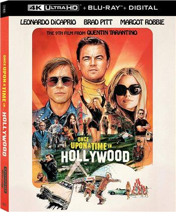 Once Upon A Time In Hollywood (2019) (4K Ultra HD + Blu-ray)