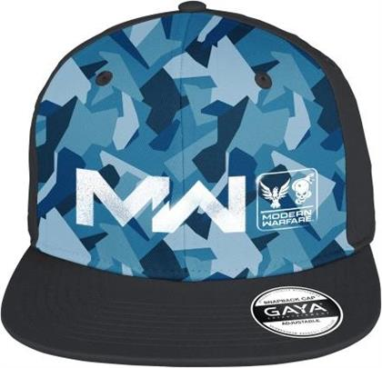 Call of Duty Modern Warfare: Logo - Snapback Blue