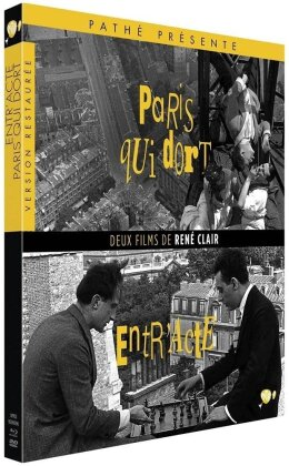 Paris qui dort / Entr'acte (1924) (Blu-ray + DVD)