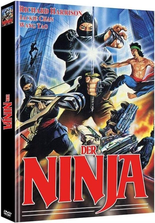 Der Ninja (1986) (Limited Edition, Mediabook, Uncut, 2 DVDs)