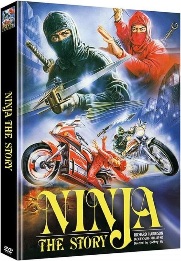 Ninja - The Story (1986) (Cover B, Limited Edition, Mediabook, Uncut, 2 DVDs)