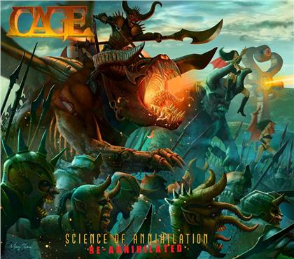Cage - Science Of Annihilation-Re-Annihilated (Digipack)