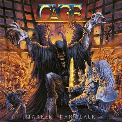 Cage - Darker Than Black (2019 Reissue, Gatefold, Red Vinyl, LP)