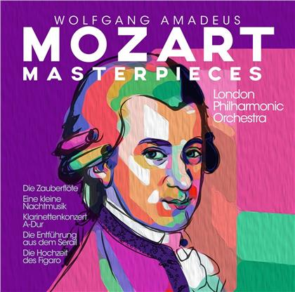London Philharmonic Orchestra & Wolfgang Amadeus Mozart (1756-1791) - Mozart Masterpieces (2 CDs)