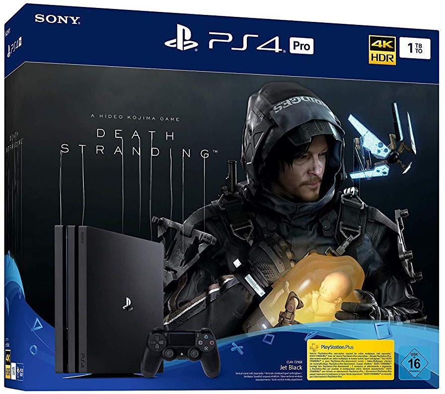 Sony Playstation 4 1TB PRO + Death Stranding