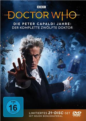Doctor Who - Die Peter Capaldi Jahre - Der komplette 12. Doktor (BBC, Edizione Limitata, 21 DVD)