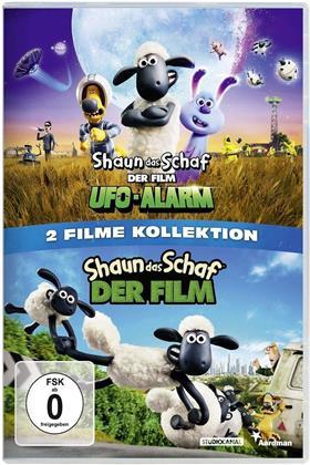 Shaun das Schaf - Der Film (2015) / Shaun das Schaf - Der Film - Ufo-Alarm (2 DVDs)