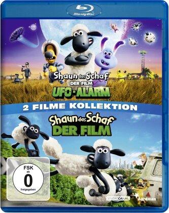Shaun das Schaf - Der Film (2015) / Shaun das Schaf - Der Film - Ufo-Alarm (2 Blu-rays)
