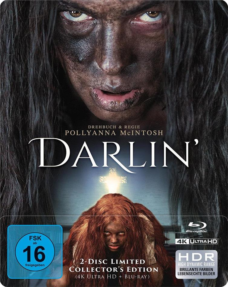 Darlin' (2019) (Limited Edition, Steelbook, 4K Ultra HD + Blu-ray)