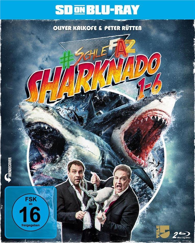Sharknado 1-6 (SD on Bluray, 2 Blu-rays)
