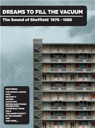 Dreams To Fill The Vacuum ~ The Sound Of Sheffield 1978-1988: 4CD Bookpack Edition (4 CDs)