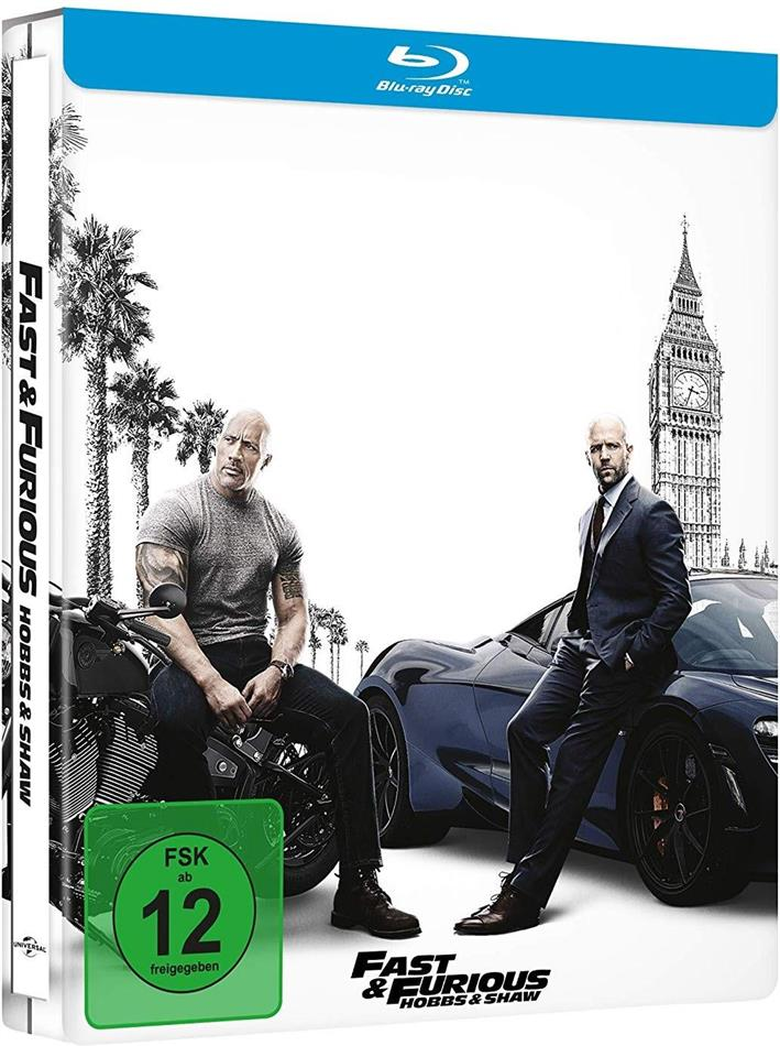 Fast & Furious: Hobbs & Shaw (2019) (Limited Edition, Steelbook)