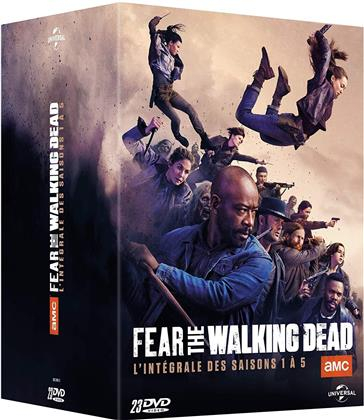 Fear the Walking Dead - Saisons 1-5 (23 DVDs)