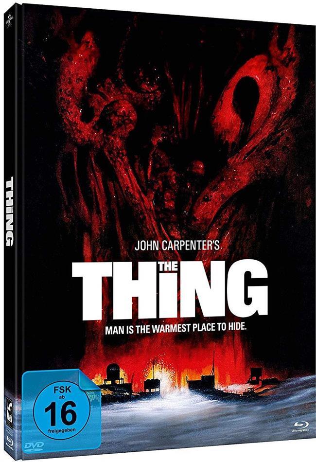 The Thing (1982) (Edwards Cover, Edizione Limitata, Mediabook, 2 Blu-ray + DVD)