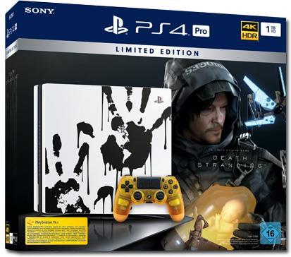 Sony Playstation 4 1TB PRO + Death Stranding (Édition Limitée)