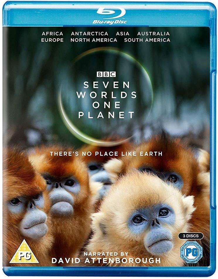 Seven Worlds - One Planet (BBC, 3 Blu-rays)