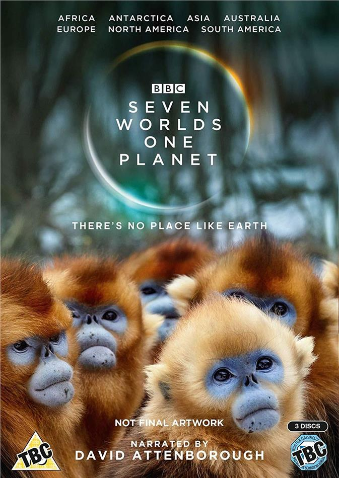 Seven Worlds - One Planet (BBC, 3 DVDs)