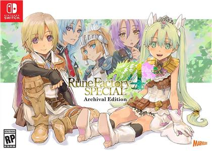 Rune Factory 4 Special - Archival Edition