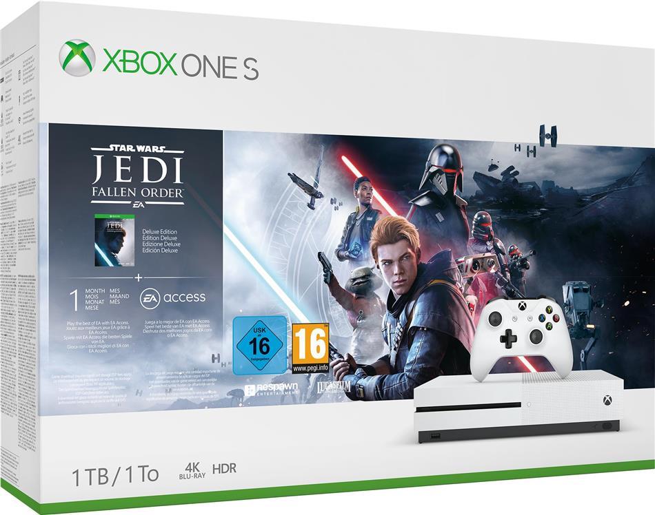 Xbox One S 1TB – Star Wars Jedi: Fallen Order™ Bundle