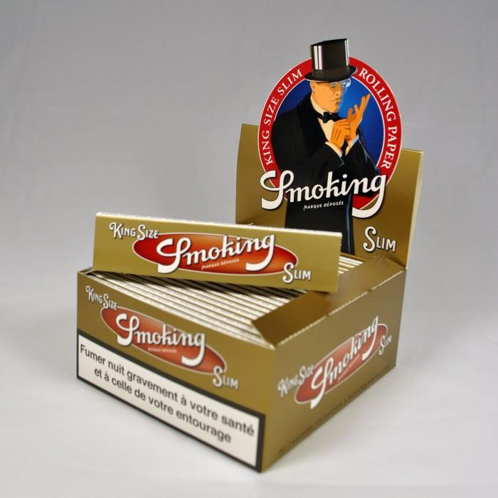 Smoking Gold Kingsize Box - 50 Booklets