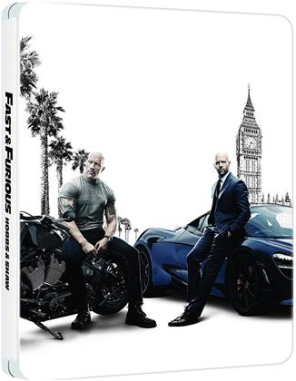 Fast & Furious: Hobbs & Shaw (2019) (Steelbook, 4K Ultra HD + Blu-ray)