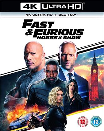 Fast & Furious: Hobbs & Shaw (2019) (4K Ultra HD + Blu-ray)