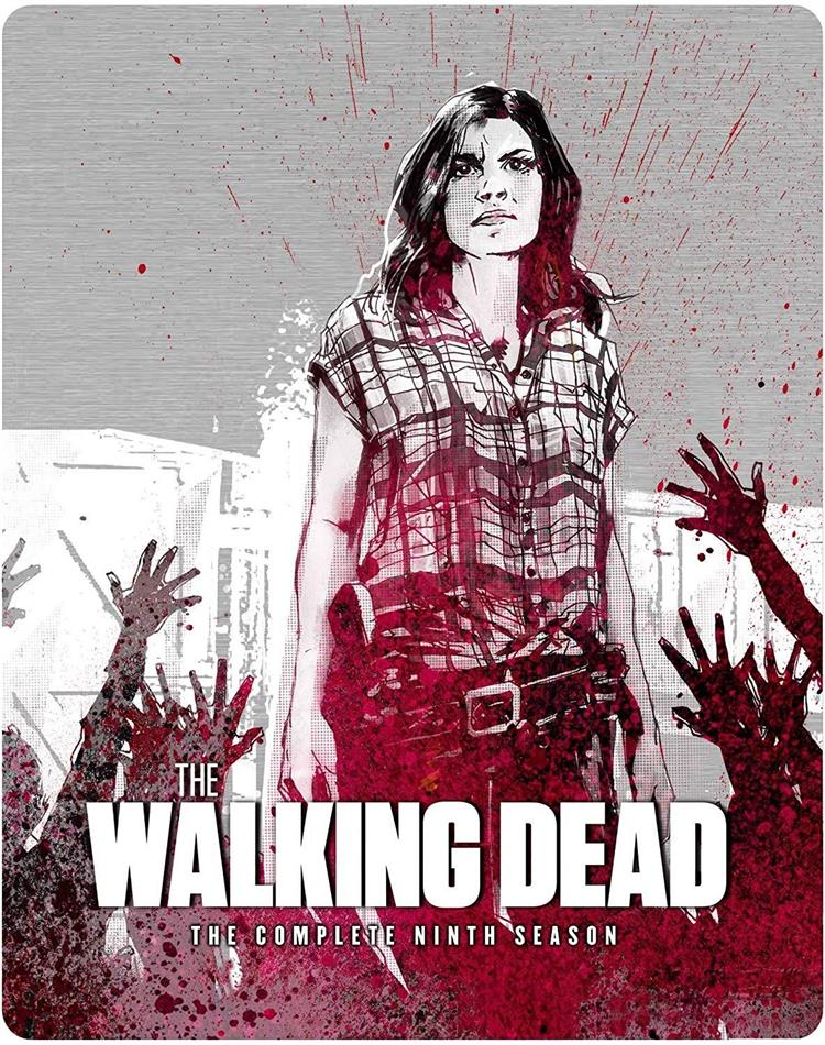The Walking Dead - Season 9 (Steelbook, 6 Blu-rays)