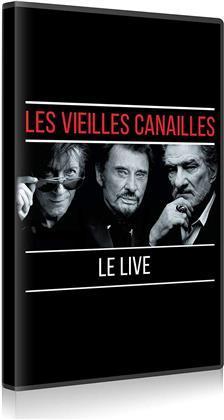 Johnny Hallyday, Eddy Mitchell & Jacques Dutronc - Les Vieilles Canailles - Le Live