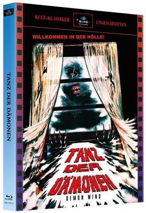 Tanz der Dämonen (1990) (Cover A, Kult-Klassiker Ungeschnitten, Limited Edition, Mediabook, 2 Blu-rays + DVD)