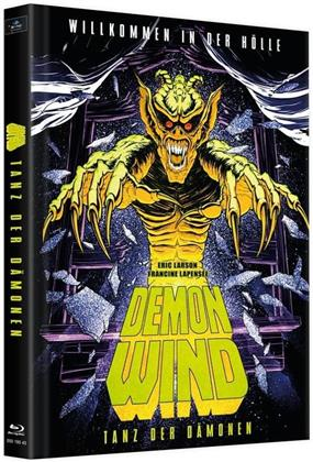 Demon Wind - Tanz der Dämonen (1990) (Cover B, Limited Edition, Mediabook, 2 Blu-rays + DVD)