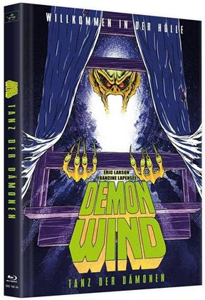 Demon Wind - Tanz der Dämonen (1990) (Cover C, Limited Edition, Mediabook, 2 Blu-rays + DVD)