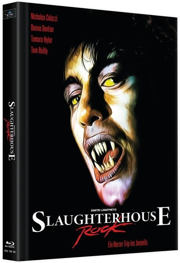 Slaughterhouse Rock (1988) (Cover B, Limited Edition, Mediabook, 2 Blu-rays + DVD)