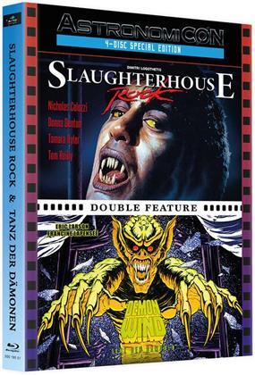Tanz der Dämonen / Slaughterhouse Rock (Wattiert, Limited Edition, Mediabook, 2 Blu-rays + 2 DVDs)