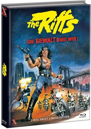 The Riffs - Die Gewalt sind wir! (1982) (Cover C, Limited Edition, Mediabook, Uncut, Blu-ray + DVD)