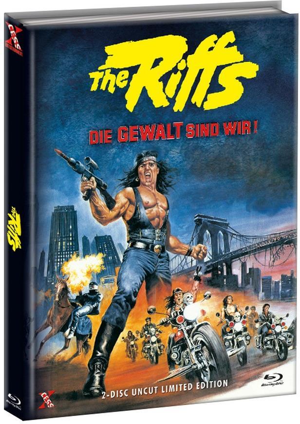 The Riffs - Die Gewalt sind wir! (1982) (Cover C, Limited Edition, Mediabook, Uncut, Blu-ray + DVD)